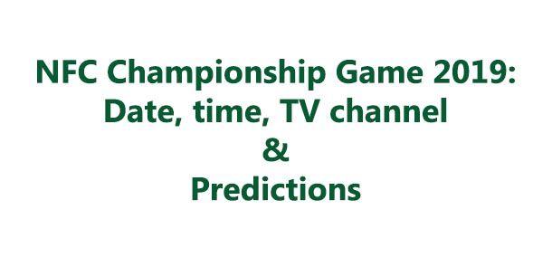 NFC Championship Game 2019